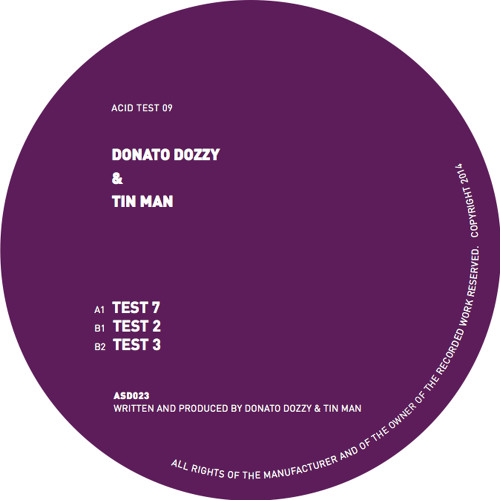 A1 - Donato Dozzy & Tin Man - Test 7 by Acid Test | Free Listening