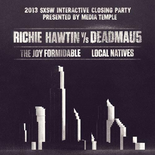 Richie Hawtin vs. deadmau5 (aka testpilot) - Live @ SXSW 2013