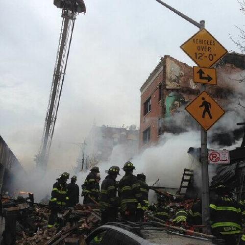 Manhattan Box 1406 - Explosion w/Fire - Park Ave @ E 116th st