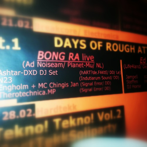 days of rough attack - DJ set