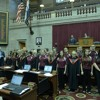 Rolla High & Stockton High Choirs perform in Chamber of MO Houseof Representatives