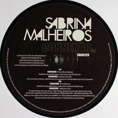 Sabrina Malheiros - Connexao (Flx Mix)