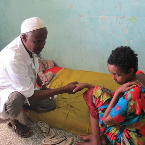 The Habeb Mental Hospital in Mogadishu