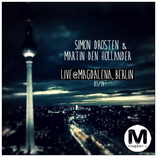 Simon Drosten mit Martin Den Hollander Live @ Magdalena, Berlin (03/14)