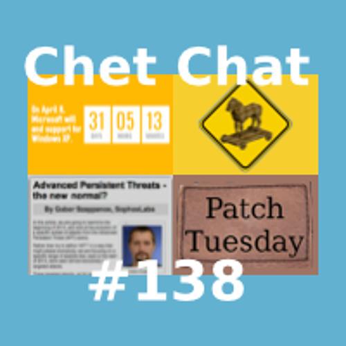 Chet Chat 138 - Mar 13, 2014