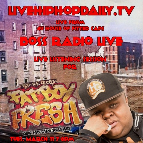 BOSS RADIO LIVE FRED THE GODSON INTERVIEW