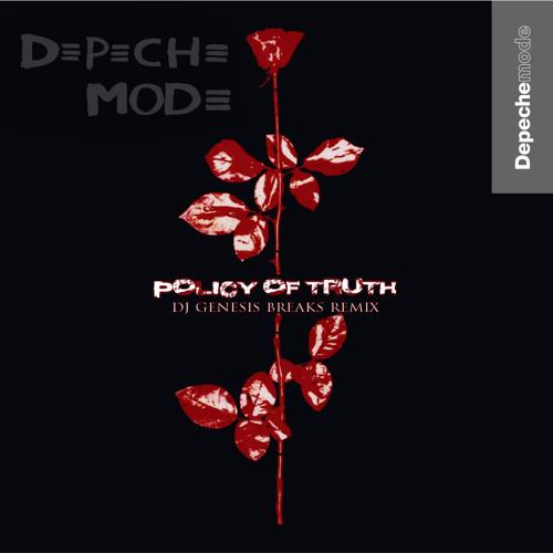 Depeche Mode - Policy Of Truth (dj genesis breaks remix)