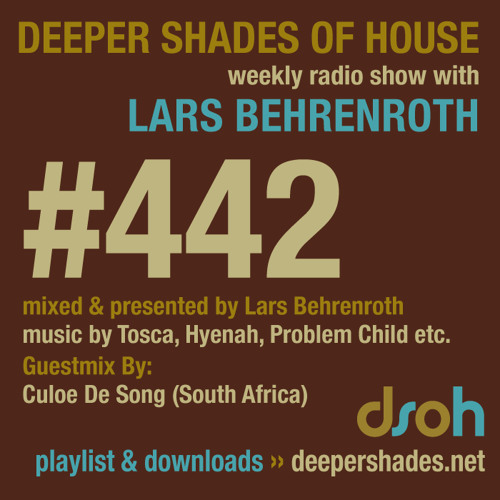 Deeper Shades Of House #442 w/ guest mix by CULOE DE SONG