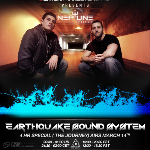 Earthquake Sound System 062 (Neptune Project Guestmix 4 hour set 'The Journey')