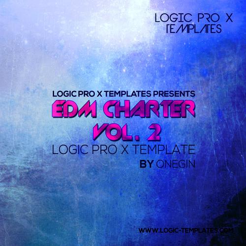 EDM Charter Vol. 2 Logic Pro X Template