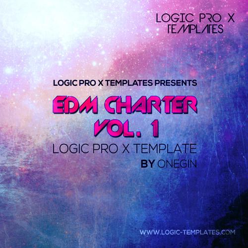 EDM Charter Vol. 1 Logic Pro X Template