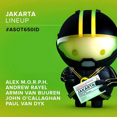 Paul van Dyk - Live ASOT 650 (Jakarta, Indonesia) - 15.03.2014 (Exclusive Free) By : Trance Music ♥