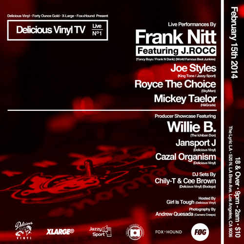WILLIE B. - DVTV LIVE Nº1