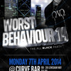 #WORSTBEHAVIOUR14 Bashment Mix, Mixed By @ZEKE_DS