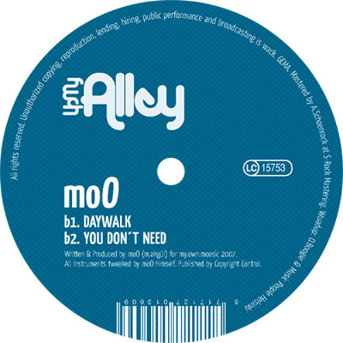 moO - You Don't Need