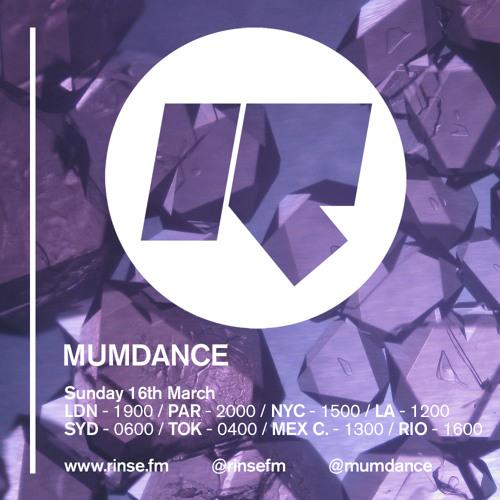 Mumdance Ft Novelist - Rinse FM - 16th March 2014