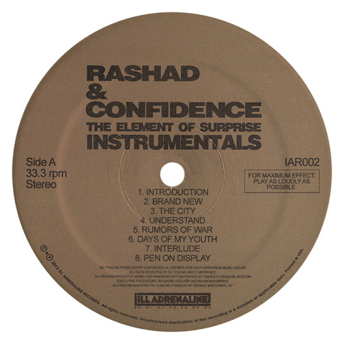 Rashad & Confidence - The City ( VΛDN/Orly Angelo Remix ) FREE Download