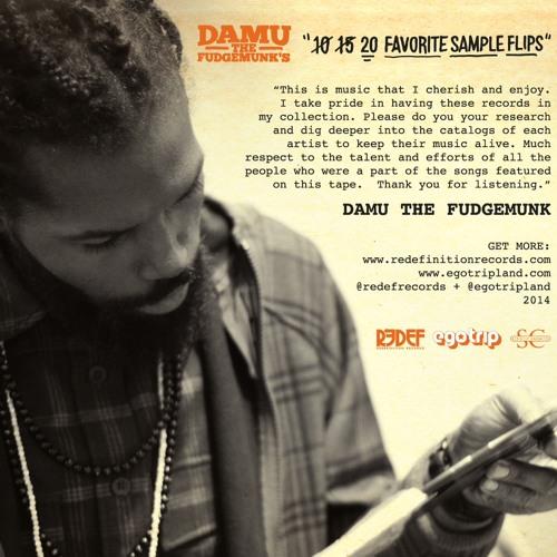 Damu's Top 10 Sample Flips ALL VINYL MIXTAPE for @egotripland