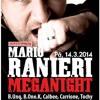 Meganight @ Pekelnej Bar Praha, Czech Republic 14.3.2014