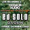 Ed Solo Live @Tremor Sound System Bristol - FREE DOWNLOAD 2014