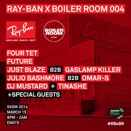 Ray-Ban x Boiler Room 004 - SXSW Warehouse DJ Mustard DJ Set