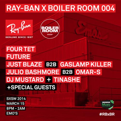 Ray-Ban x Boiler Room 004 - SXSW Warehouse Four Tet DJ Set