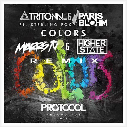 Tritonal & Paris Blohm feat. Sterling Fox - Colors (Marrs TV & Higher State Remix)