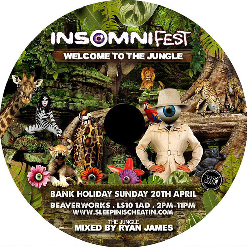 Ryan james insomni fest welcome to the jungle mix by for Jungle house music