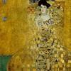 Adele - Homage of the paintings of Gustav Klimt's
