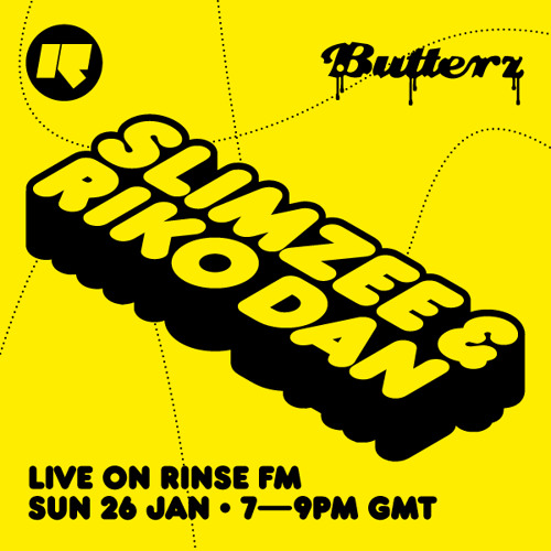 Slimzee & Riko - guest mix For Butterz (Rinse FM, 26/01/14)
