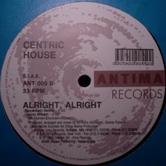 Centric House - Alright (Black Bombers Sandcastles Edit)