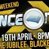 BOUNCE IT UP BANK HOLIDAY SATURDAY 19TH APRIL - DJ EVVO FT MC LUKEY P & MC RAGE PROMO CD