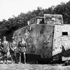 BREAKFAST: WWI German tank Mephisto