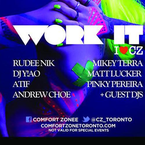 Atif Live at Comfort Zone Mar 17 (Work it Sundays)