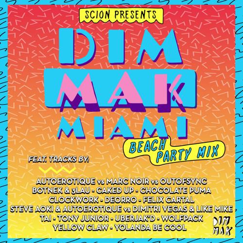 DIM MAK MIAMI BEACH PARTY MIX - 2014