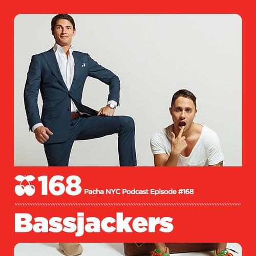 Pacha NYC Podcast: 168   Bassjackers