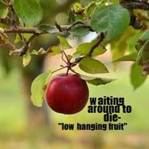 waiting around to die- low hanging fruit