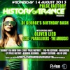Quincy @ History Of Trance - Pulse Factory - 14th Of August 2013