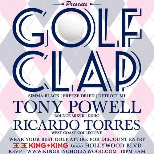 Golf Clap - Live at West Coast Soul - King King Hollywood - February 22, 2013 - L.A