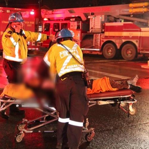 3rd Alarm Fire St Andrew St Toronto