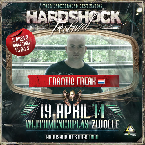 Frantic Freak - Hardshock Festival Promomix 2014 (2hrs Early Frenchcore)