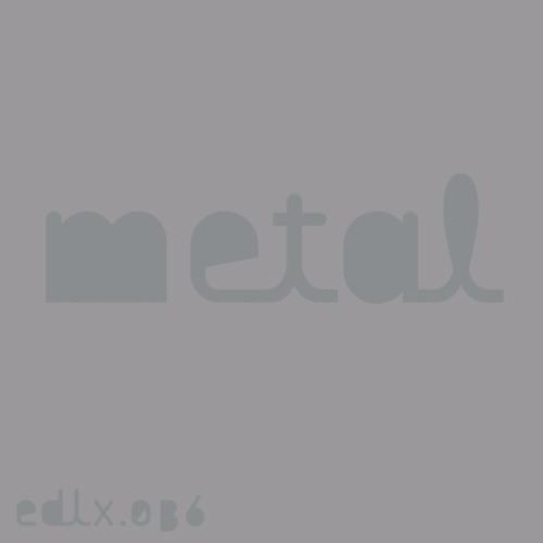 Black Asteroid - Metal (Pinion Version) [EDLX036]