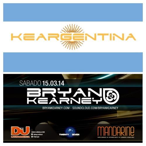 Bryan Kearney LIVE @ Fiesta Pura Mandarine Buenos Aires March 2014