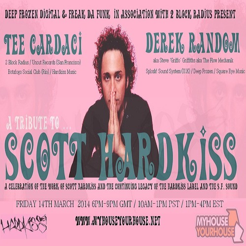 SCOTT HARDKISS & HARDKISS MUSIC LEGACY - PART ONE - DEREK RANDOM & TEE CARDACI  MIXES