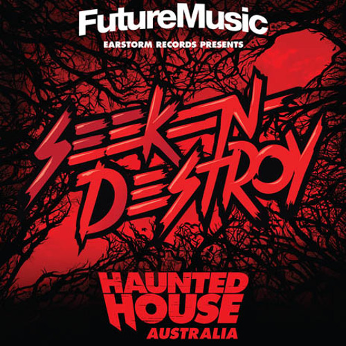 Seek N Destroy @ Future Music Festival 14' Set - Knife Party Haunted House Arena
