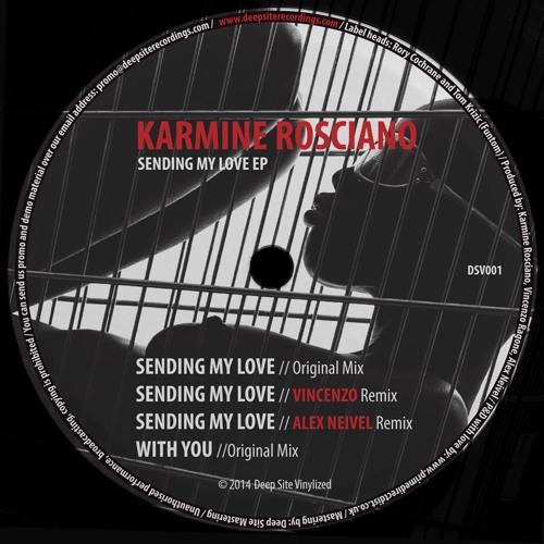 Karmine Rosciano-Sending My Love EP // Deep Site Vinylized