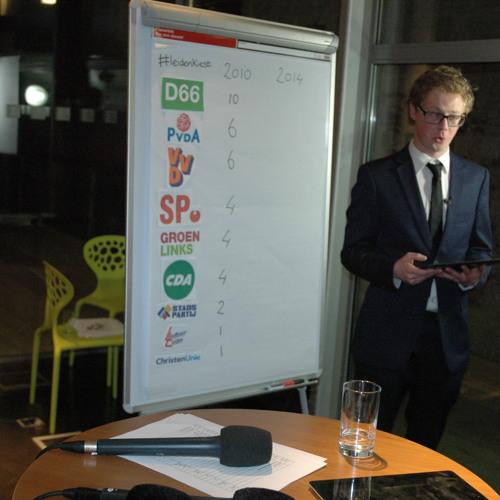 2014-03-19 Frank Beijen van Het Leidsch Dagblad over de live-registratie