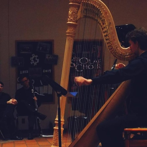 Haunted Cathedral for Solo Prepared Harp by Joshua Weinberg