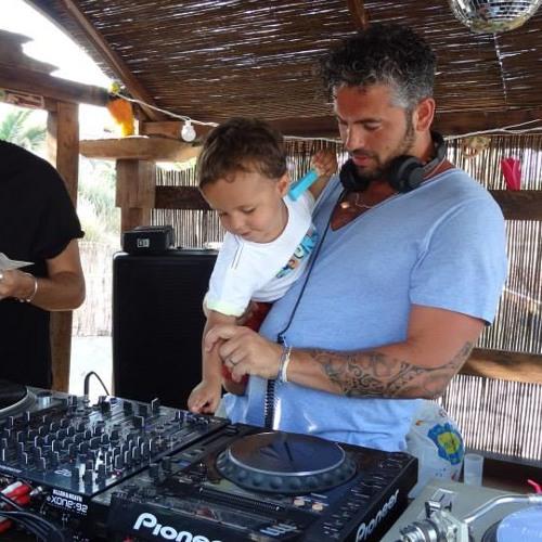 Igor Vicente at tINI & The Gang Sirocco Beach Ibiza 20130717