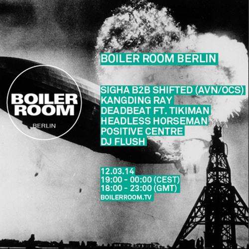 Positive Centre Boiler Room Berlin Live Show